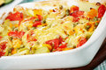 Vegetable pudding Royalty Free Stock Photo