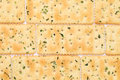 Vegetable salty crackers texture background Royalty Free Stock Photos