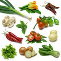 Vegetable Sampler Two Stock Photo