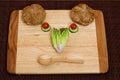 Vegetable smiley Royalty Free Stock Photo