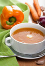Vegetable soup Royalty Free Stock Image