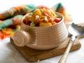 Vegetable stew Royalty Free Stock Photo