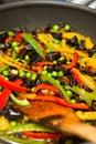 Vegetable stir fry Royalty Free Stock Photo