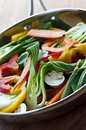 Vegetable stir fry Stock Photos