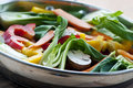 Vegetable stir fry Stock Photography