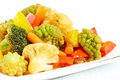 Vegetable stir fry see my other works in portfolio Royalty Free Stock Photo