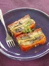 Vegetable terrine Royalty Free Stock Photo