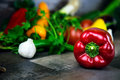 Vegetables all together in white background photo Royalty Free Stock Photos