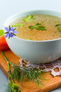 Vegetables Bouillon Royalty Free Stock Photo