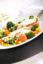 Vegetables dish Stock Images