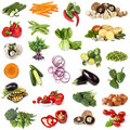 Vegetables Food Collage Royalty Free Stock Photo