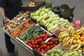 Vegetables market closeup Royalty Free Stock Photos