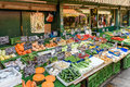 Vegetables for sale in naschmarkt market in vienna austria august s most popular fruits and Stock Photo