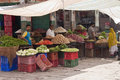 Vegetables sellers Royalty Free Stock Images
