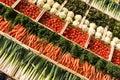 Vegetables spirit Stock Photos