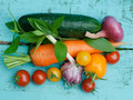 Vegetables still life image of Stock Image