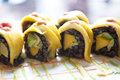 Vegetables Sushi rolls Royalty Free Stock Photo