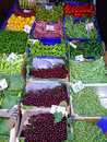 Vegetables variety of at farmers market in istanbul Stock Photography