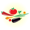 Vegetables vector illustration Royalty Free Stock Image