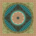 Vegetal Mandala Royalty Free Stock Photo
