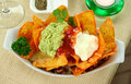 Vegetarian Nachos Royalty Free Stock Photos