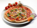 Vegetarian pizza Royalty Free Stock Photos