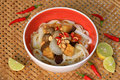 Vegetarian quang style noodle mì quảng also spelled my quảng literally quảng is a vietnamese dish that originated from Stock Photos