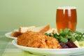 Vegetarian sweet potatoe bakes Royalty Free Stock Image