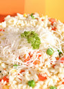 Vegetarische Mahlzeit, gesunder Lebensstil Stockfotos