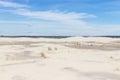 Vegetation on the dunes at Lagoa do Peixe National Park Royalty Free Stock Photo