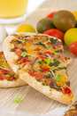 Veggie Pizza Royalty Free Stock Photo