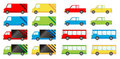 Vehicle big pack Royalty Free Stock Image