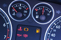 Vehicle Dashboard Gauges Royalty Free Stock Photo