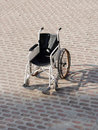Vehicle for handicapped persons invalid chair Royalty Free Stock Images