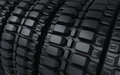Vehicle perspective tires d render close up Royalty Free Stock Photography