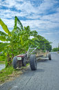 Vehicles used in agriculture thailand Royalty Free Stock Photography
