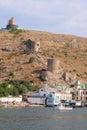 Veiw to Balaclava, Crimea Royalty Free Stock Photo