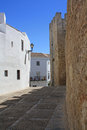 Vejer village in Andalusian Royalty Free Stock Photo