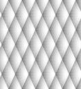 Vektor nahtloser diamond pattern black and white Lizenzfreies Stockbild