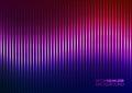 Vektorillustration av en violet music equalizer Royaltyfri Bild