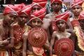 Velakali performers