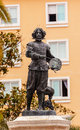 Velaquez painter statue triana seville andalusia spain by antonio susillo installed in is one of the most famous painters Royalty Free Stock Images