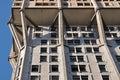 Velasca tower concrete emboss, milan