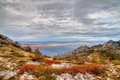 Velebit view Stock Images