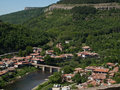 Veliko tarnovo view from tsarevets castle Royalty Free Stock Photo