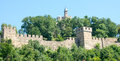 Veliko Tarnovo. Wall Fortress Tsarevets Royalty Free Stock Photo