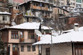 Veliko Tarnovo in the Winter Royalty Free Stock Photo