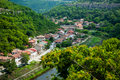 Veliko Tirnovo (Tarnovo) city in Bulgaria Royalty Free Stock Photo