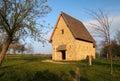 Velkomoravsky kostel church replika in modra in moravia in czech republic Stock Photo