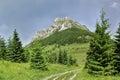 Velky Rozsutec mountain in Mala Fatra mountains